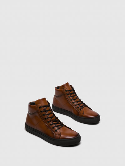 Foreva Brown Lace-up Boots