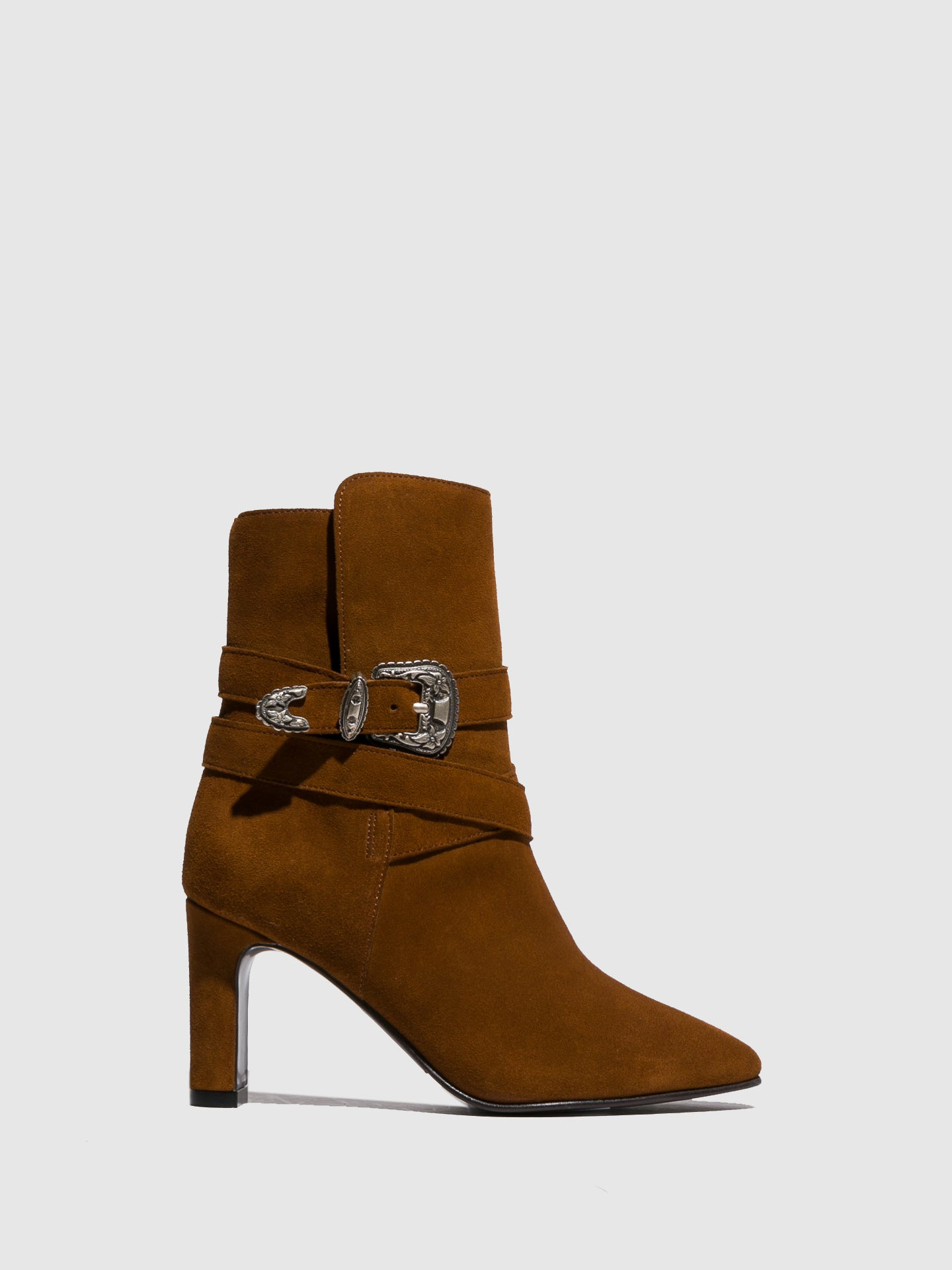 Foreva Camel Buckle Boots