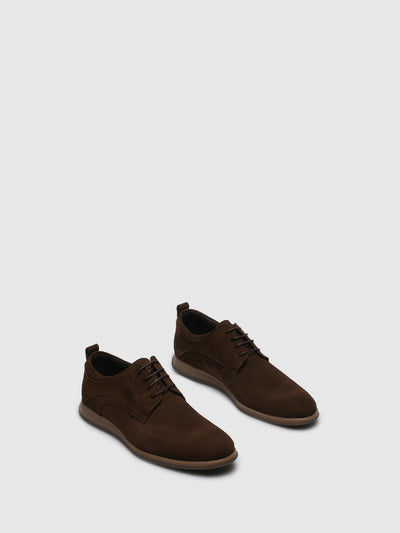 Foreva Brown Lace-up Shoes