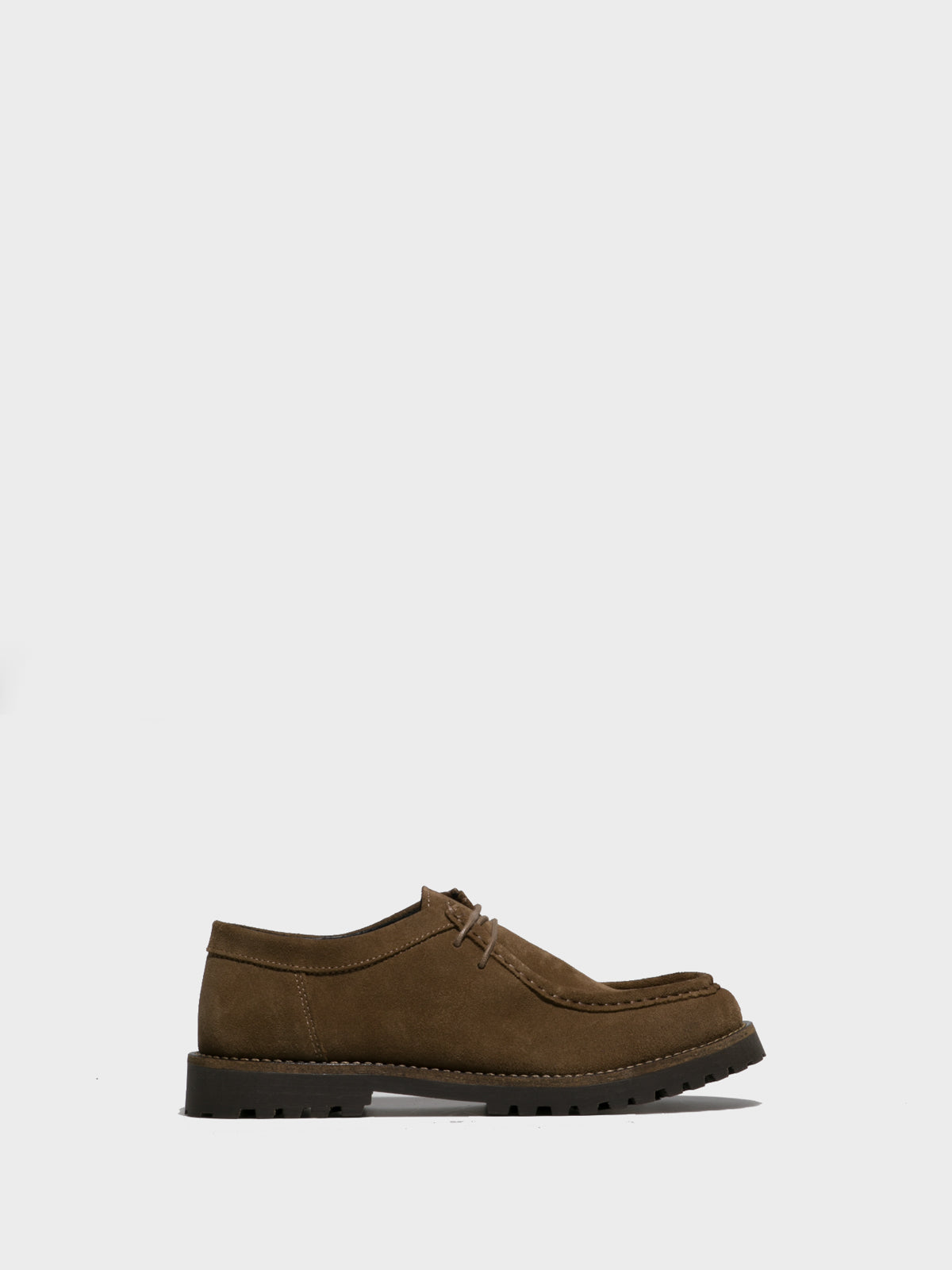 Foreva Taupe Lace-up Shoes
