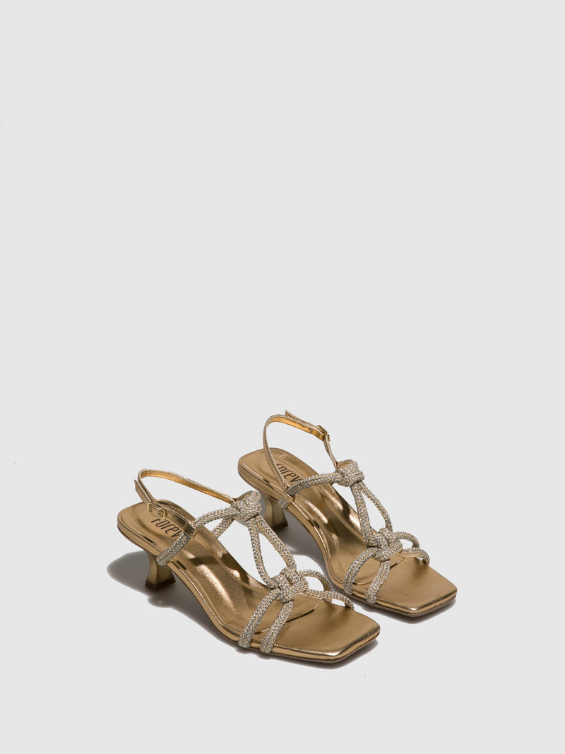 Foreva Nude Strappy Sandals