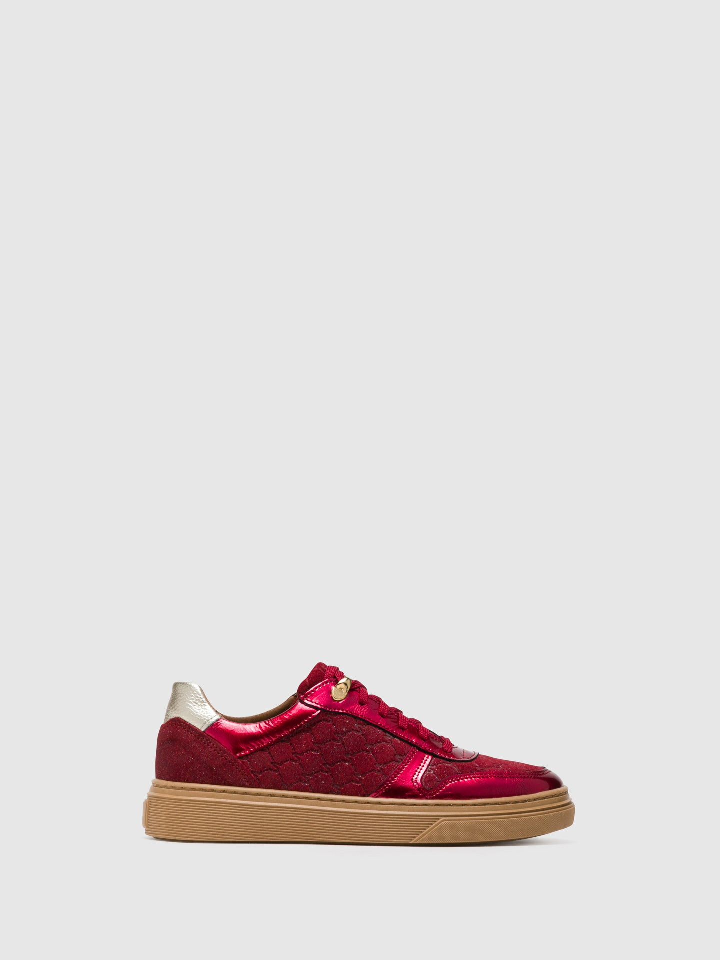 Foreva Crimson Lace-up Trainers