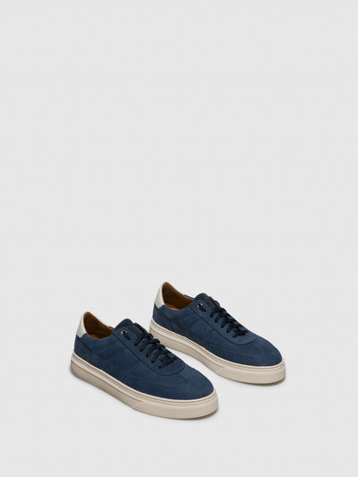 Fungi Blue Lace-up Trainers