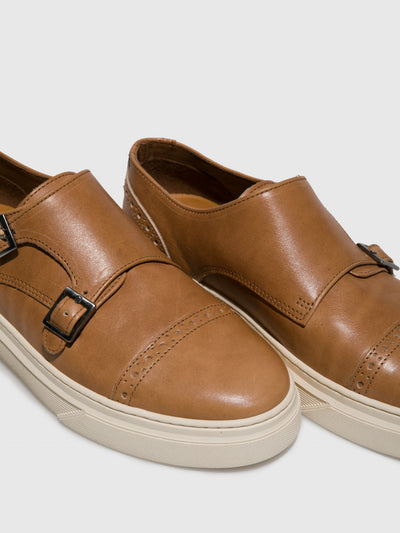 Fungi Camel Buckle Shoes