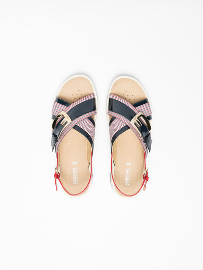 Geox Multicolor Crossover Sandals