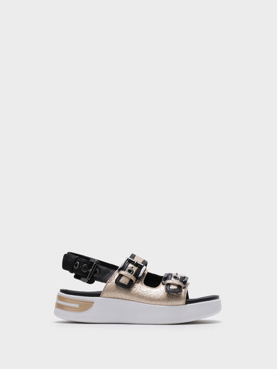 Geox Multicolor Buckle Sandals