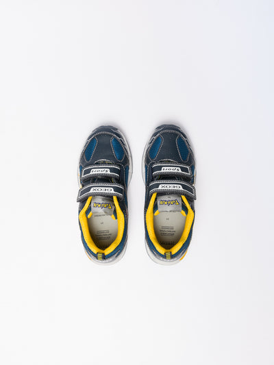 Geox Multicolor Velcro Trainers