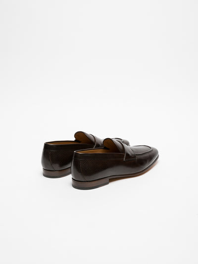 Gino Bianchi Brown Loafers Shoes