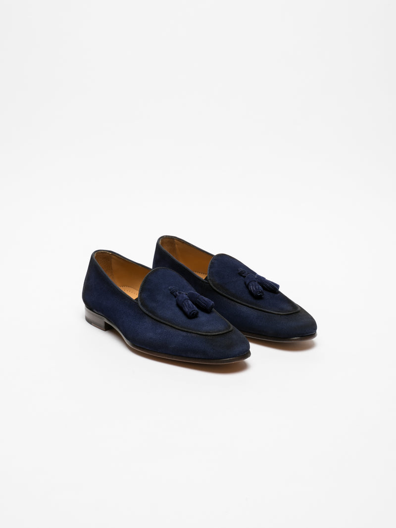 Blue Loafers Shoes