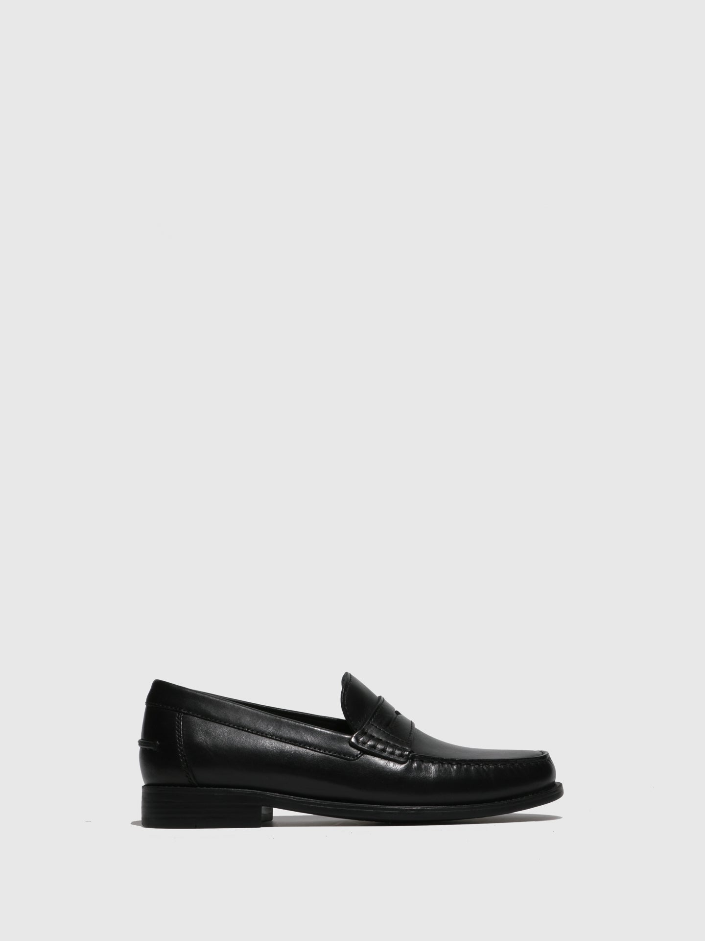 Geox Black Loafers Shoes