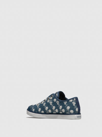 Geox Navy Lace-up Shoes