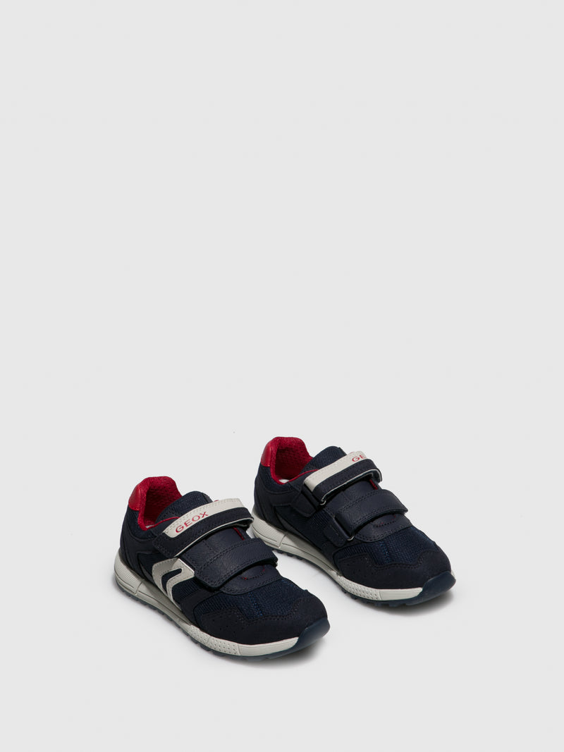 Navy Velcro Trainers