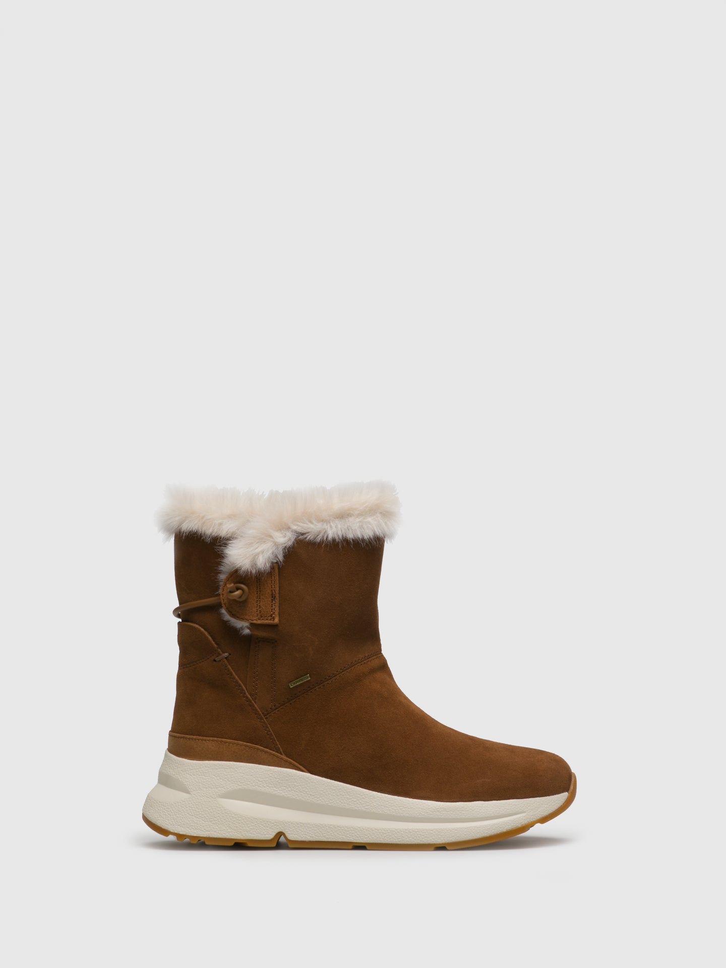 Geox Brown Fluff Boots