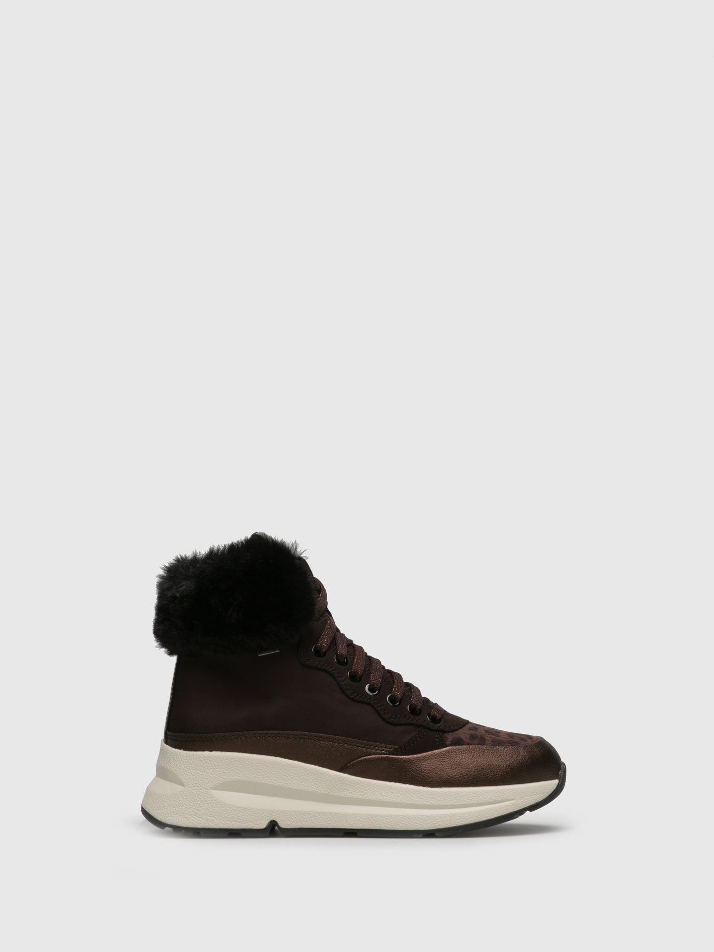 Geox Brown Lace-up Boots