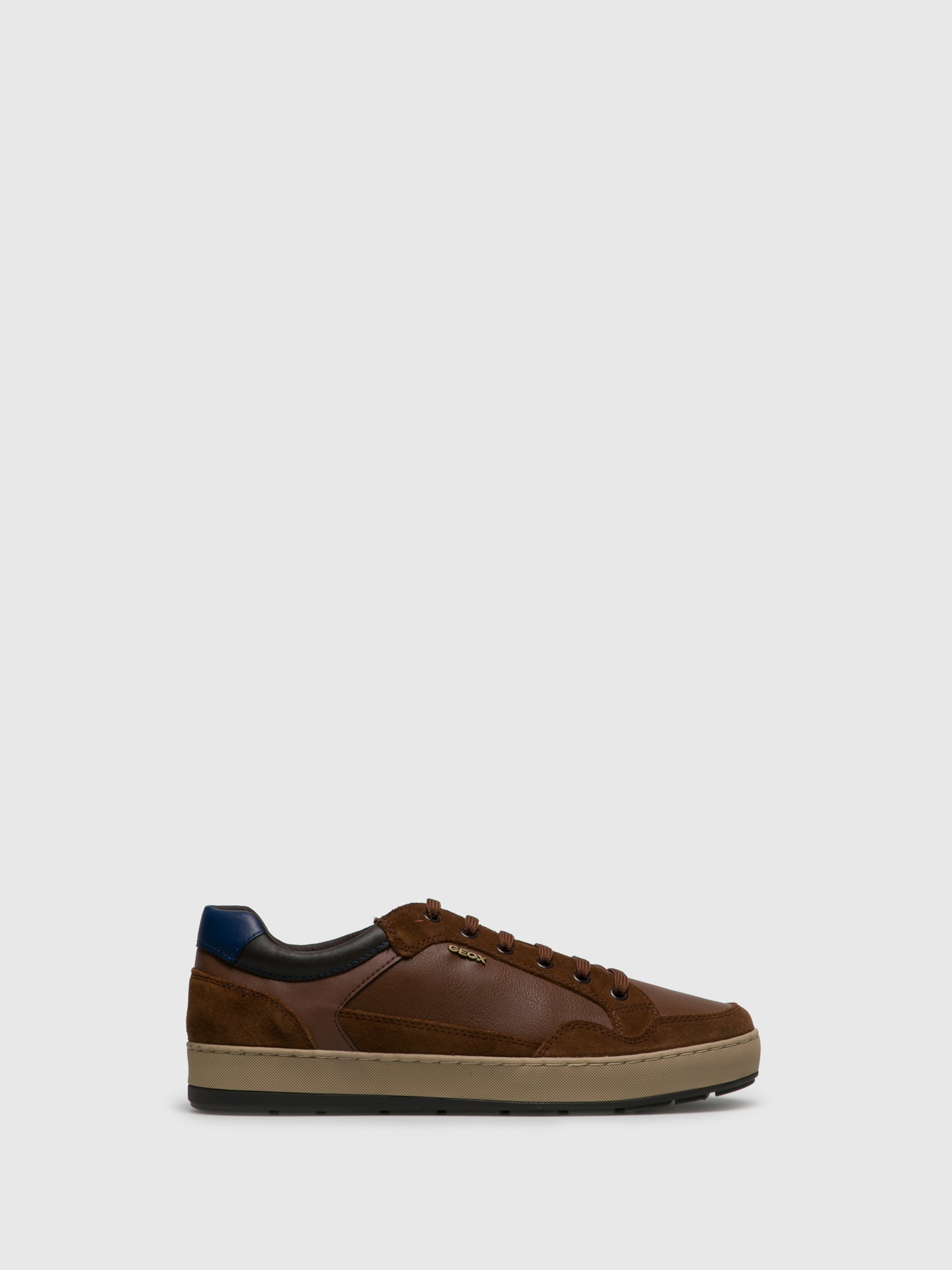 Geox Brown Lace-up Shoes