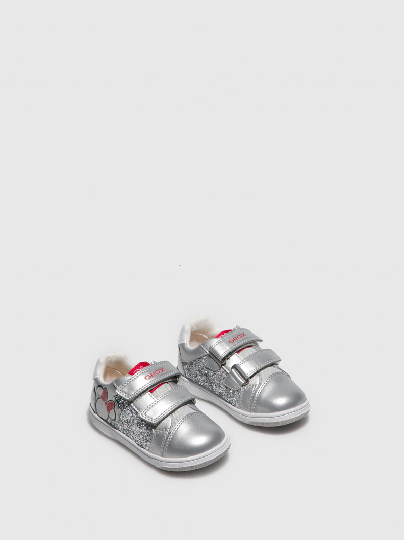 Gray Velcro Trainers