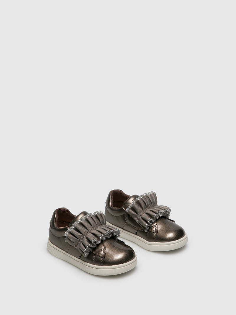 DarkGray Velcro Trainers