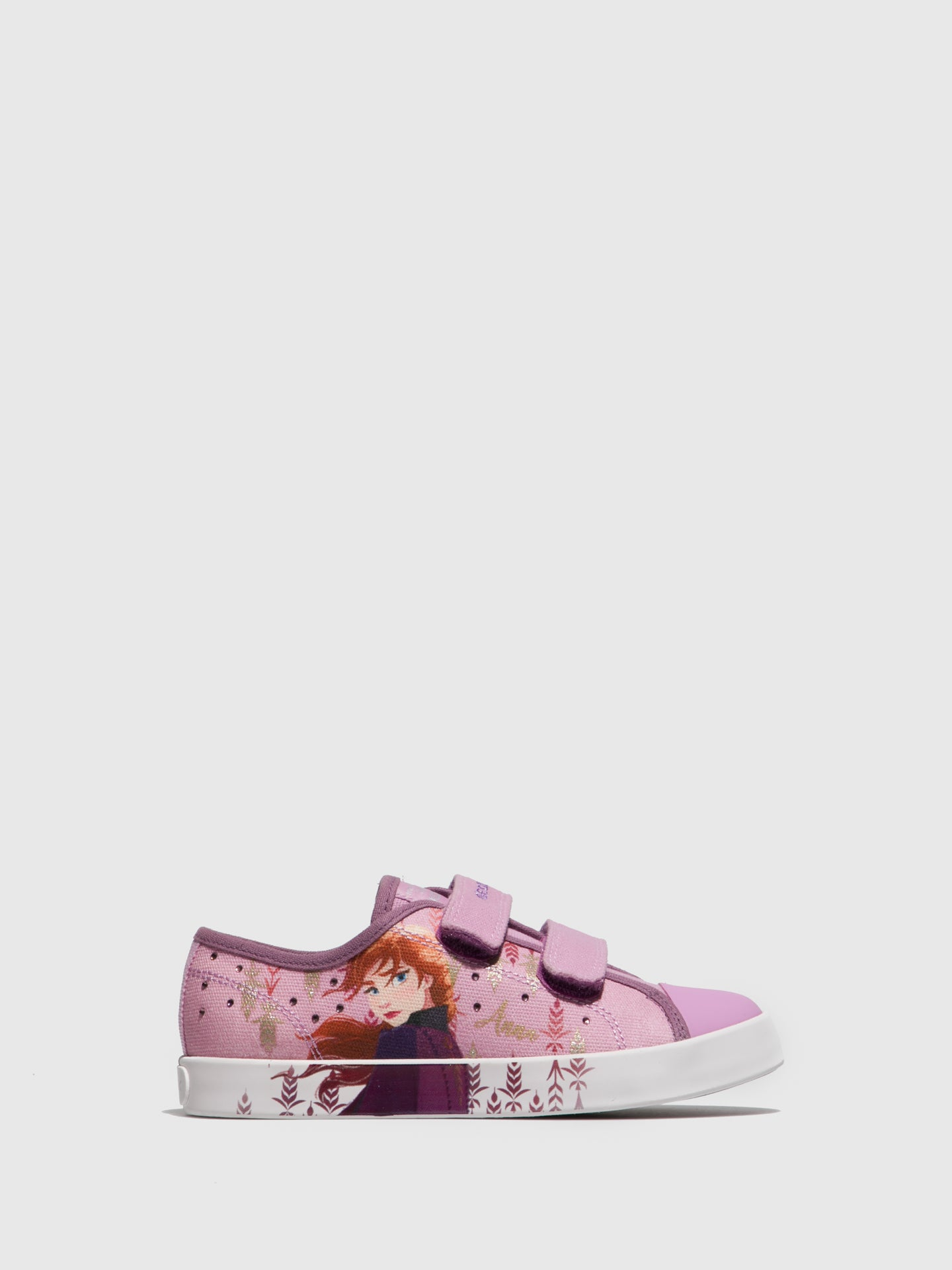 Geox Pink Velcro Trainers