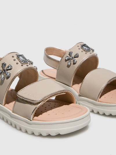 Geox BlanchedAlmond	 Ankle Strap Sandals