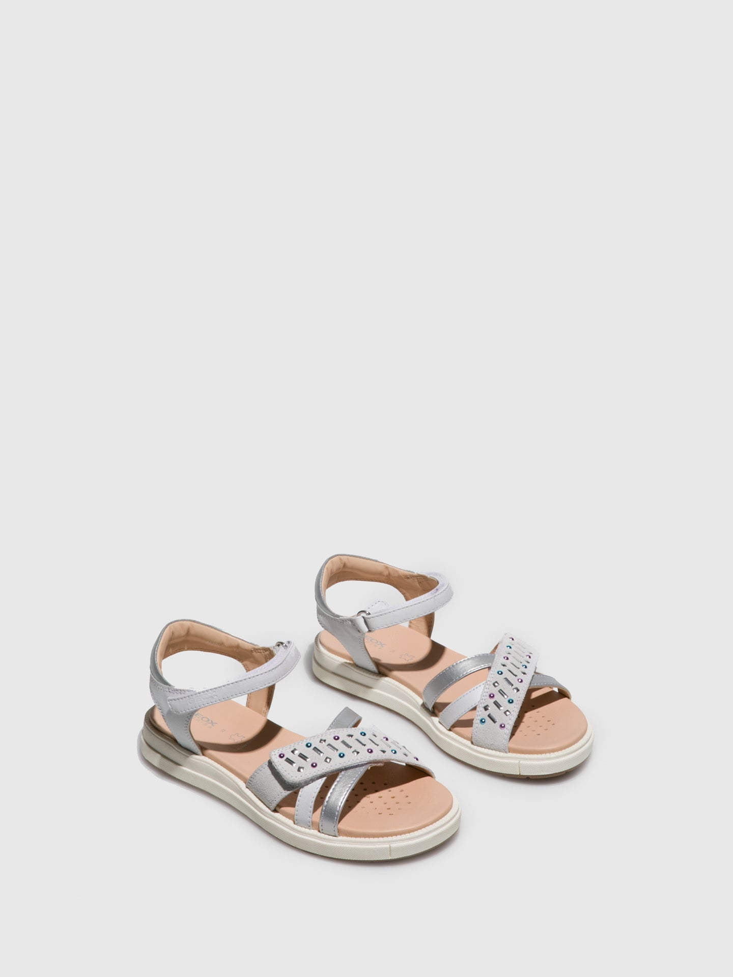 Geox Snow Ankle Strap Sandals