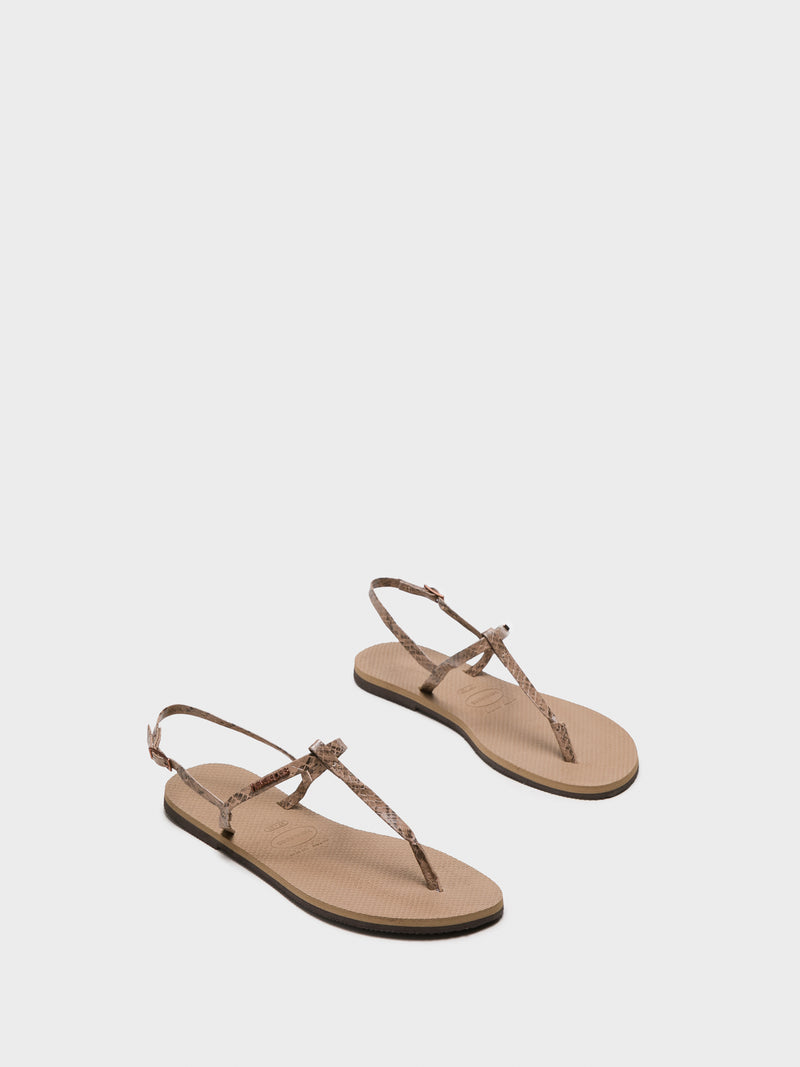 Havaianas Gold Buckle Sandals