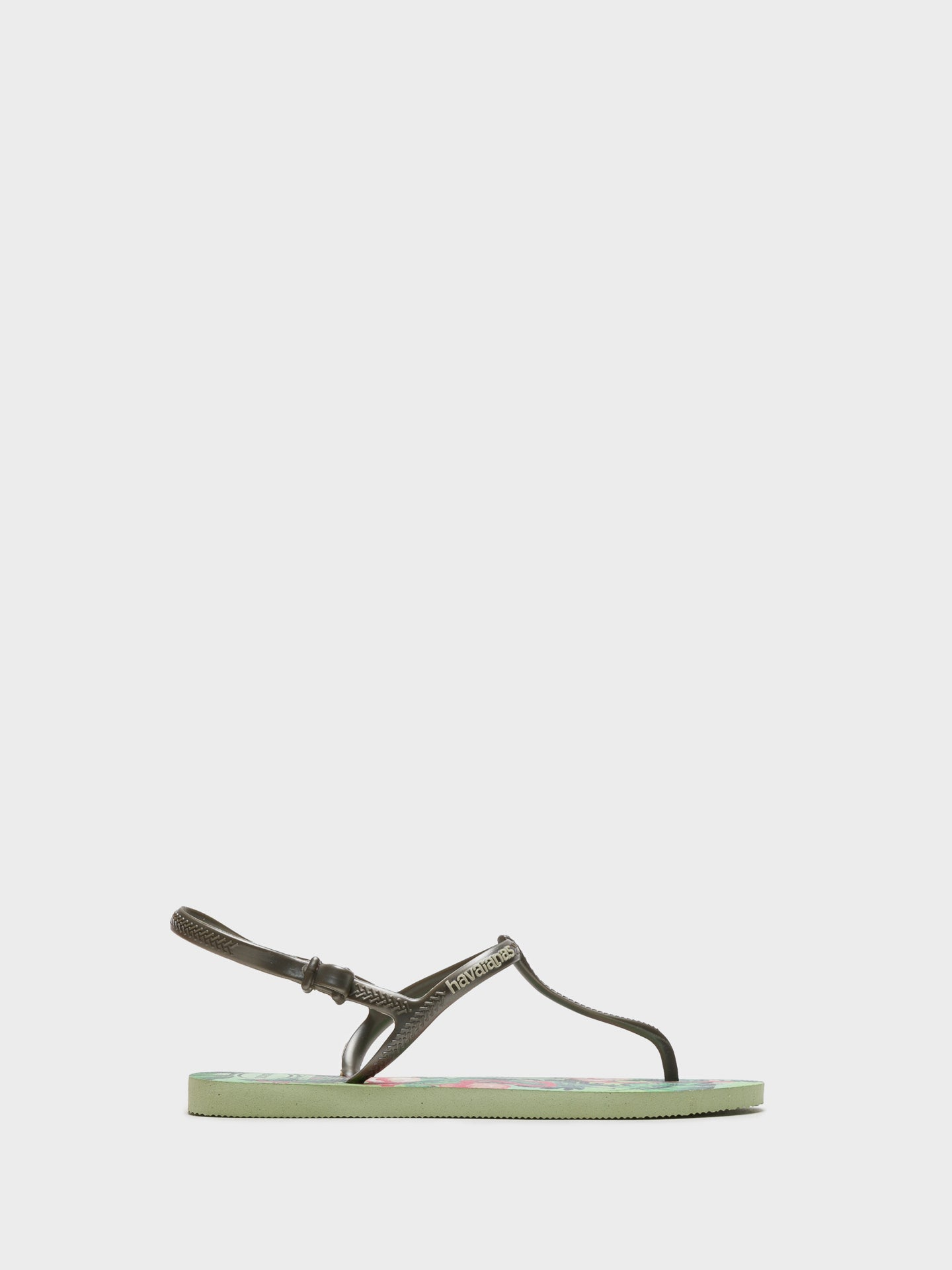 Havaianas Green Sling-Back Sandals