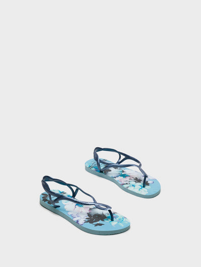 Havaianas Blue Sling-Back Sandals