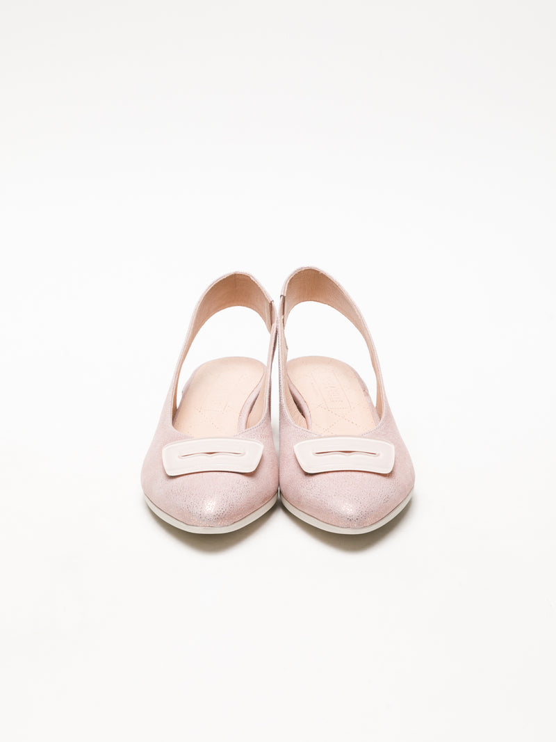 LightPink Sling-Back Pumps Shoes