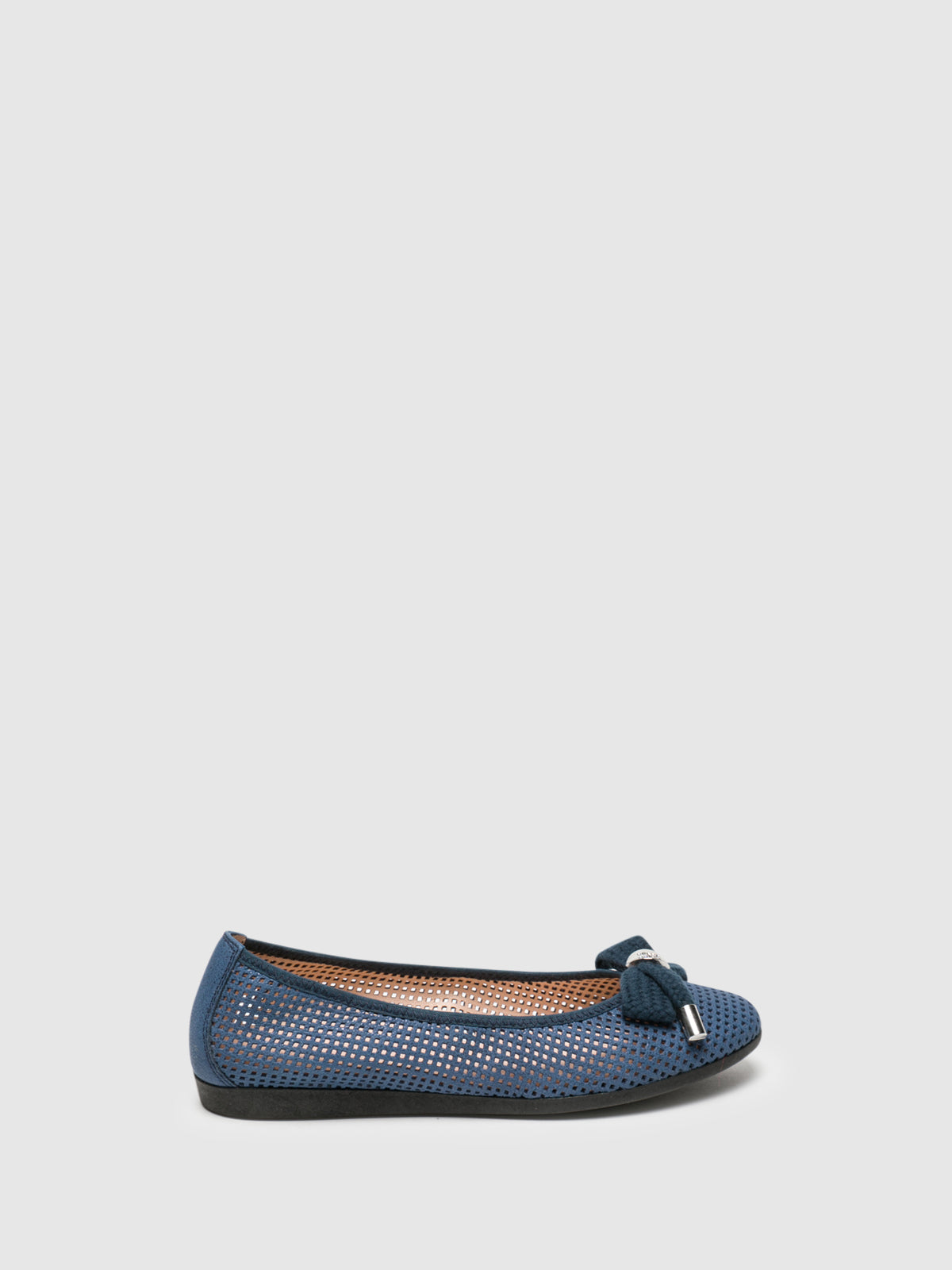 Hispanitas Blue Bow Ballerinas