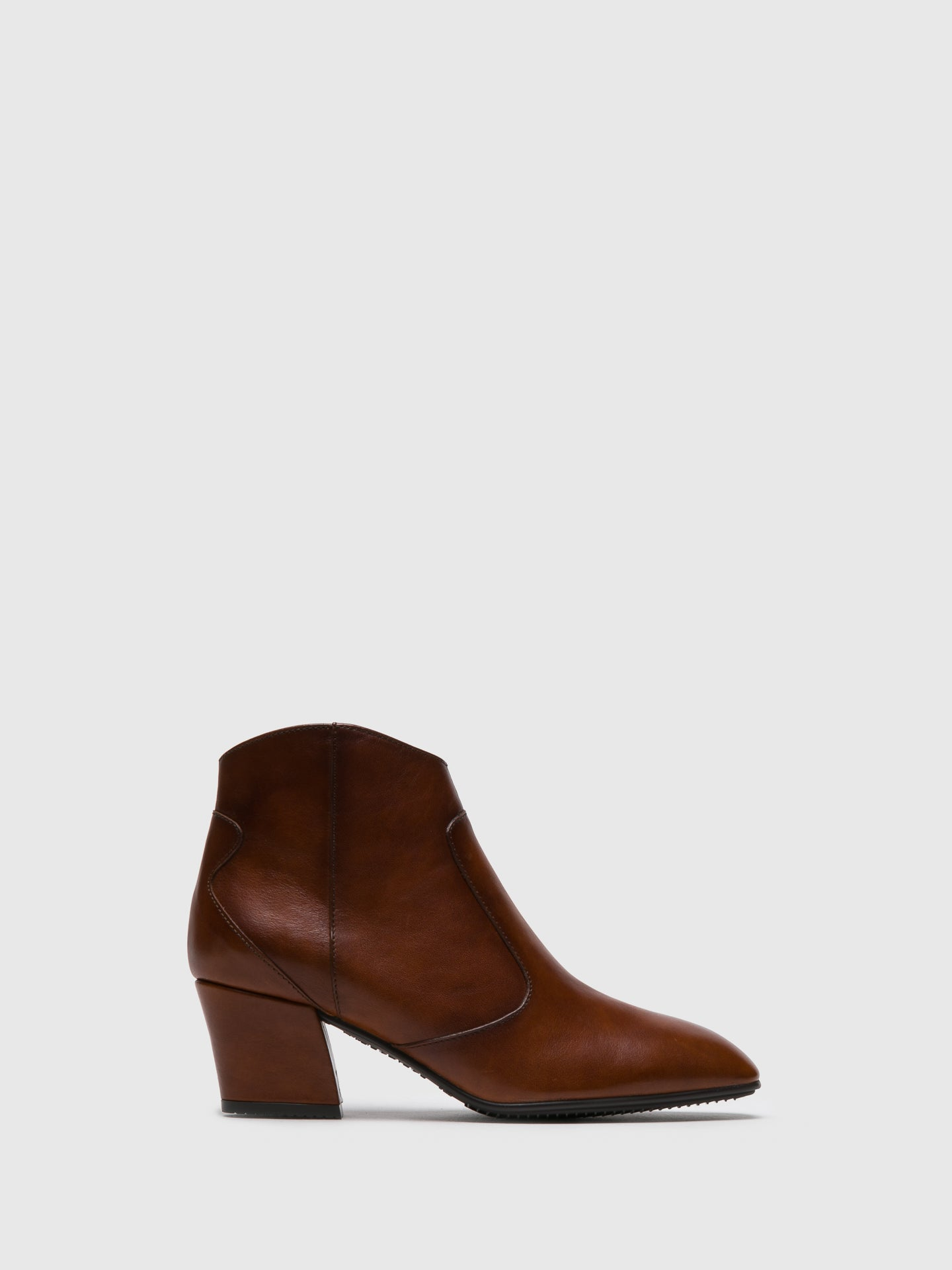 Hispanitas SaddleBrown Zip up Ankle Boots