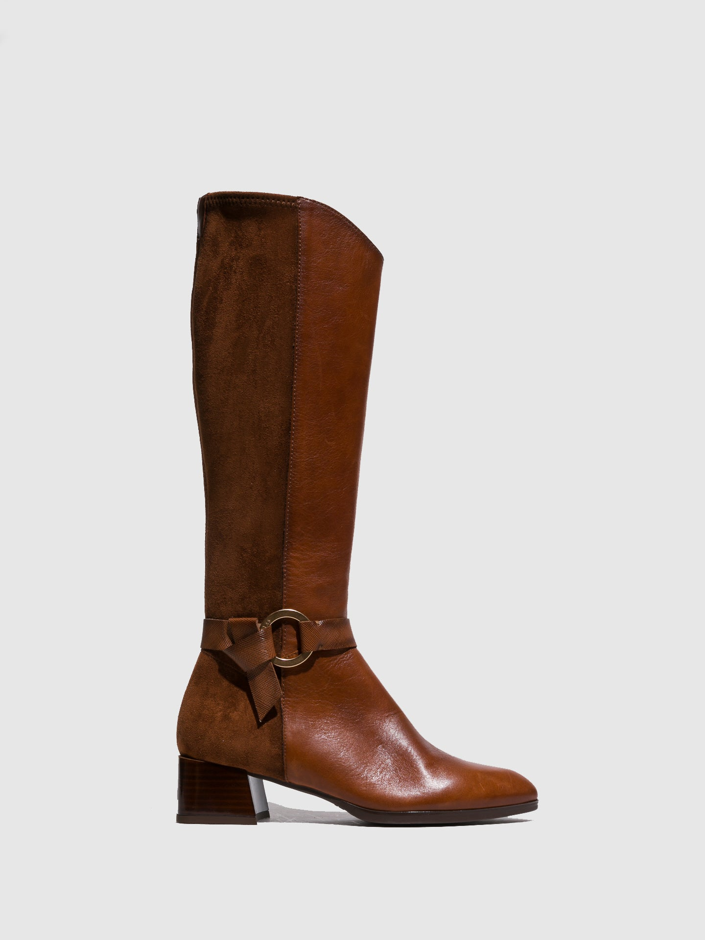 Hispanitas Brown Buckle Boots