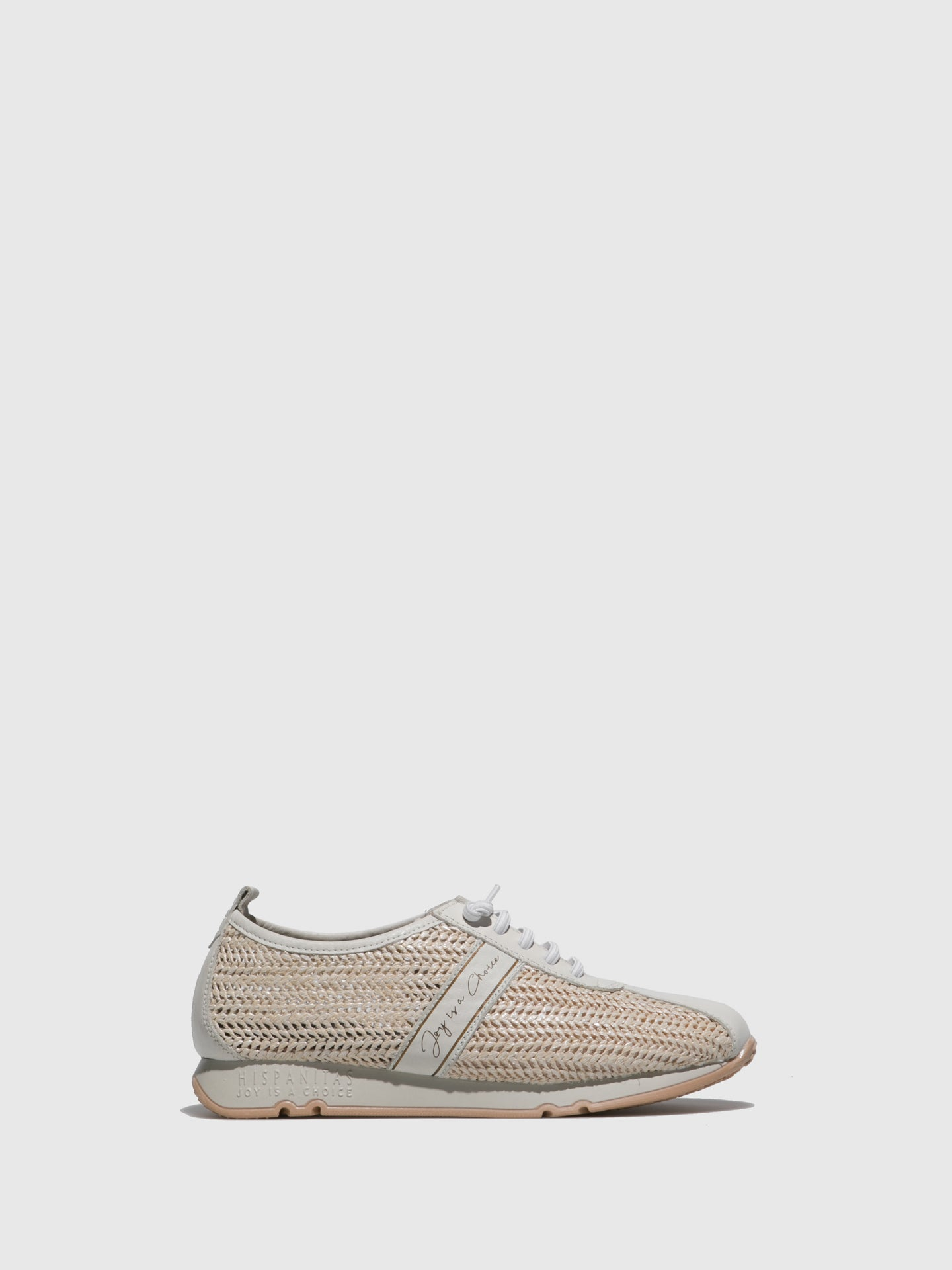 Hispanitas Wheat Lace-up Trainers