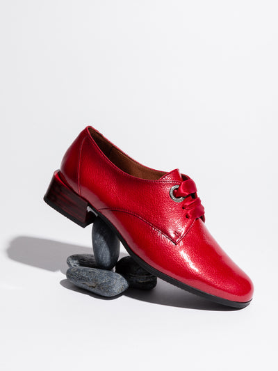 Hispanitas Red Derby Shoes