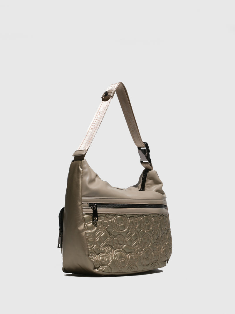 Hispanitas Beige Shoulder Bag