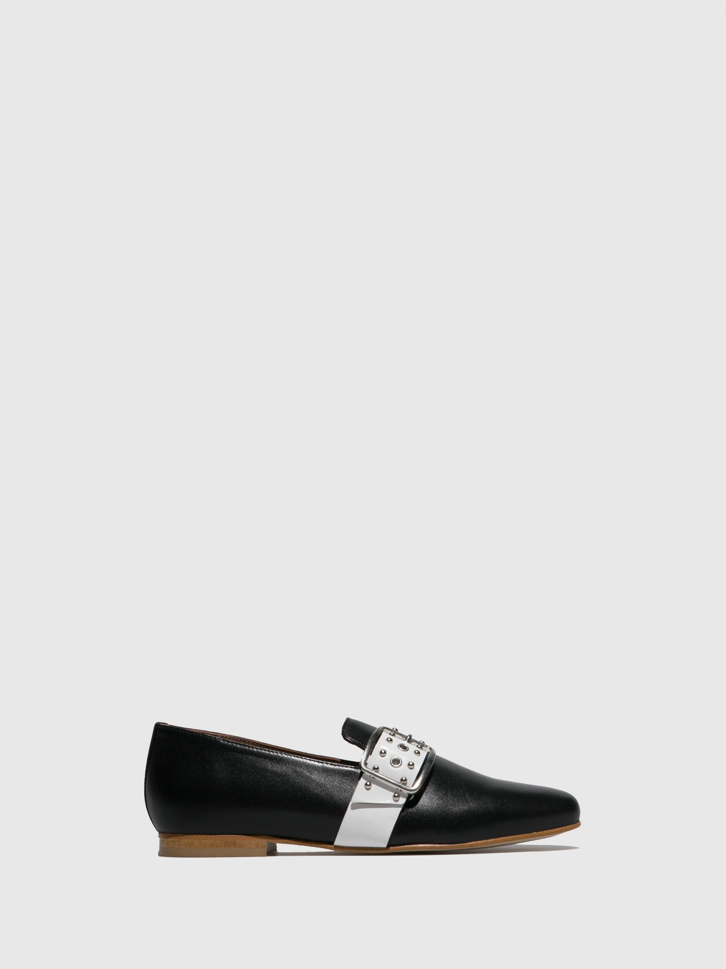 JJ Heitor Black Loafers Shoes