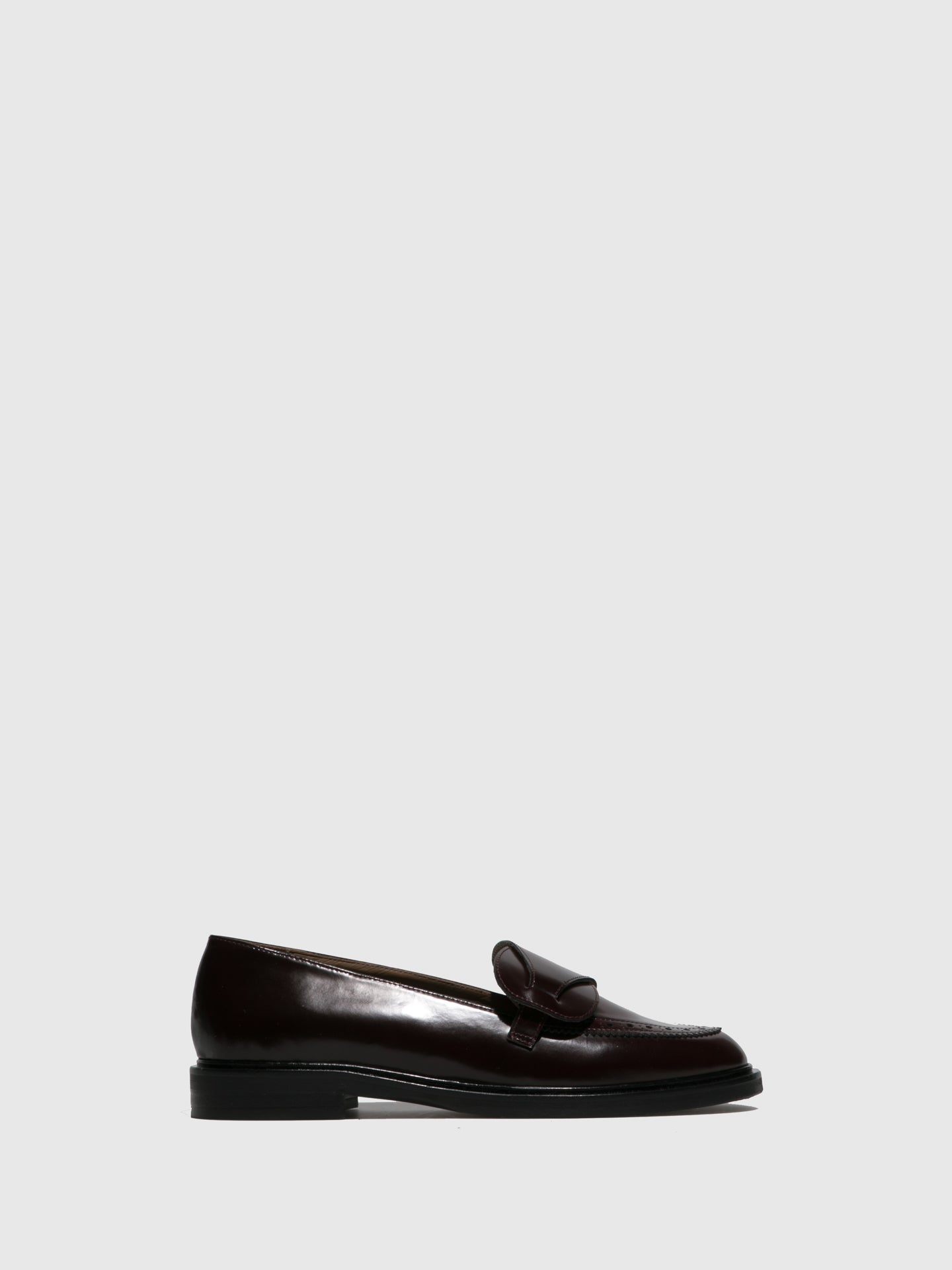 JJ Heitor DarkRed Loafers Shoes