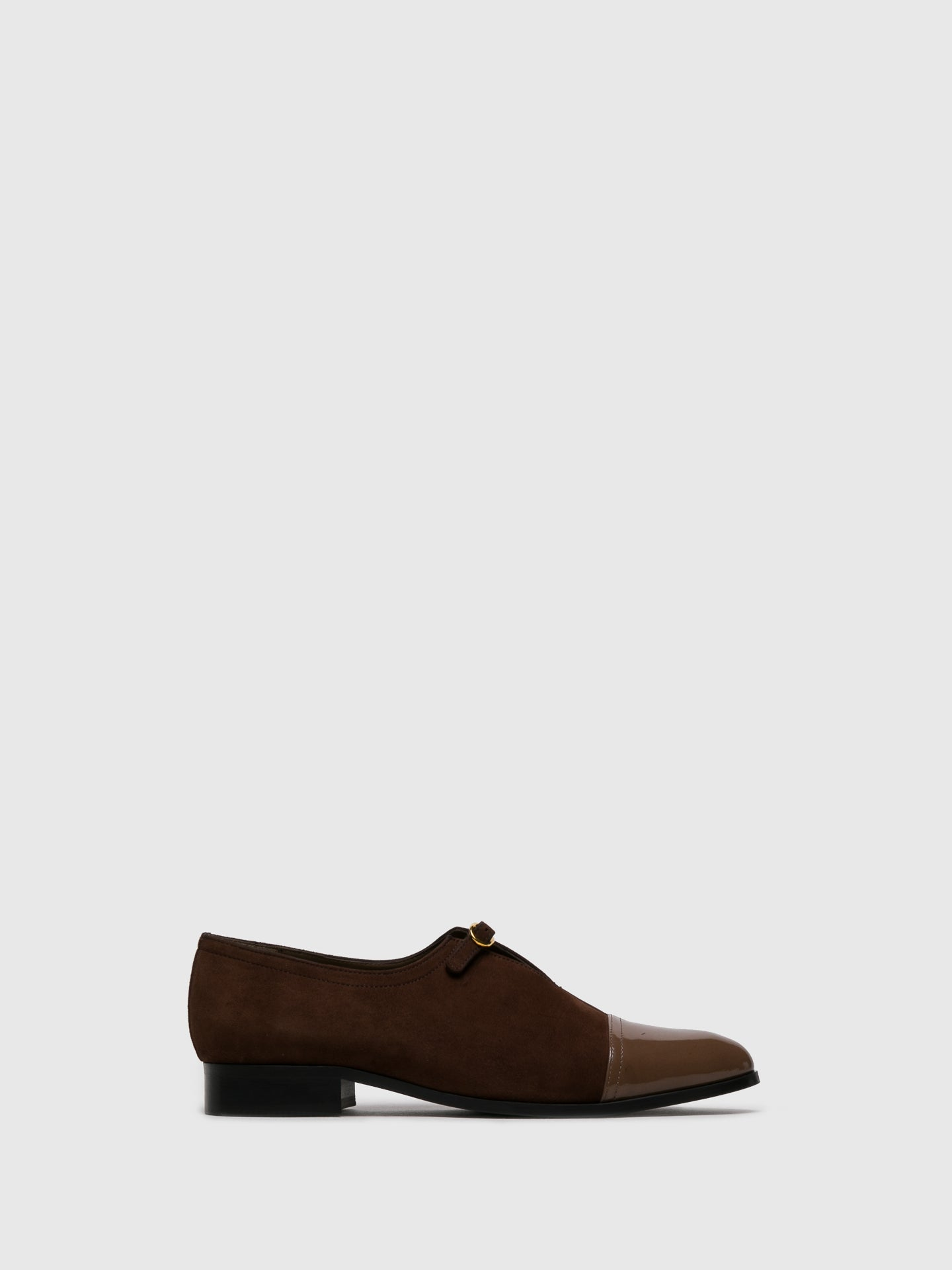 JJ Heitor Brown Suede Pointed Toe Shoes