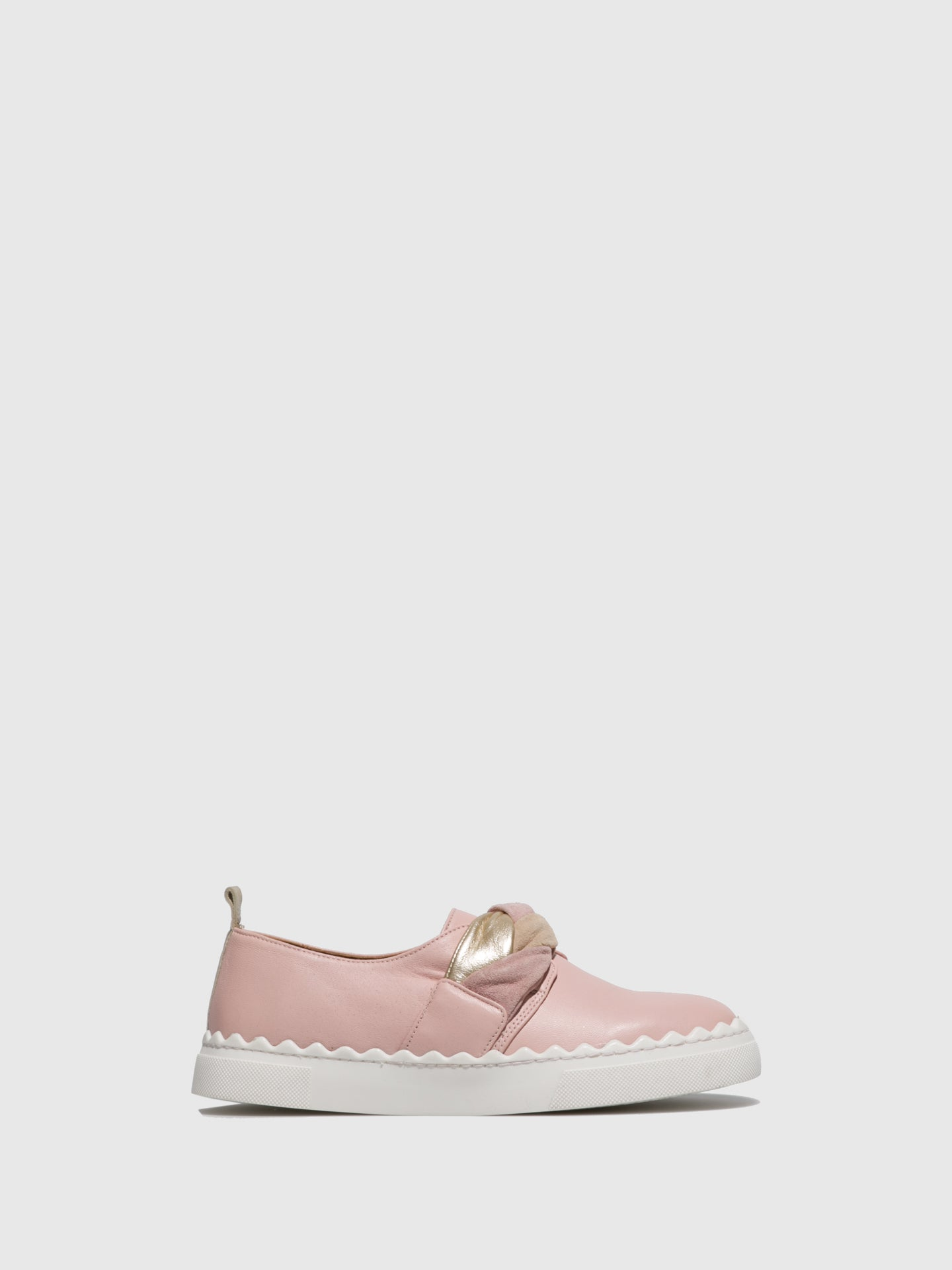 JJ Heitor Pink Slip-on Shoes