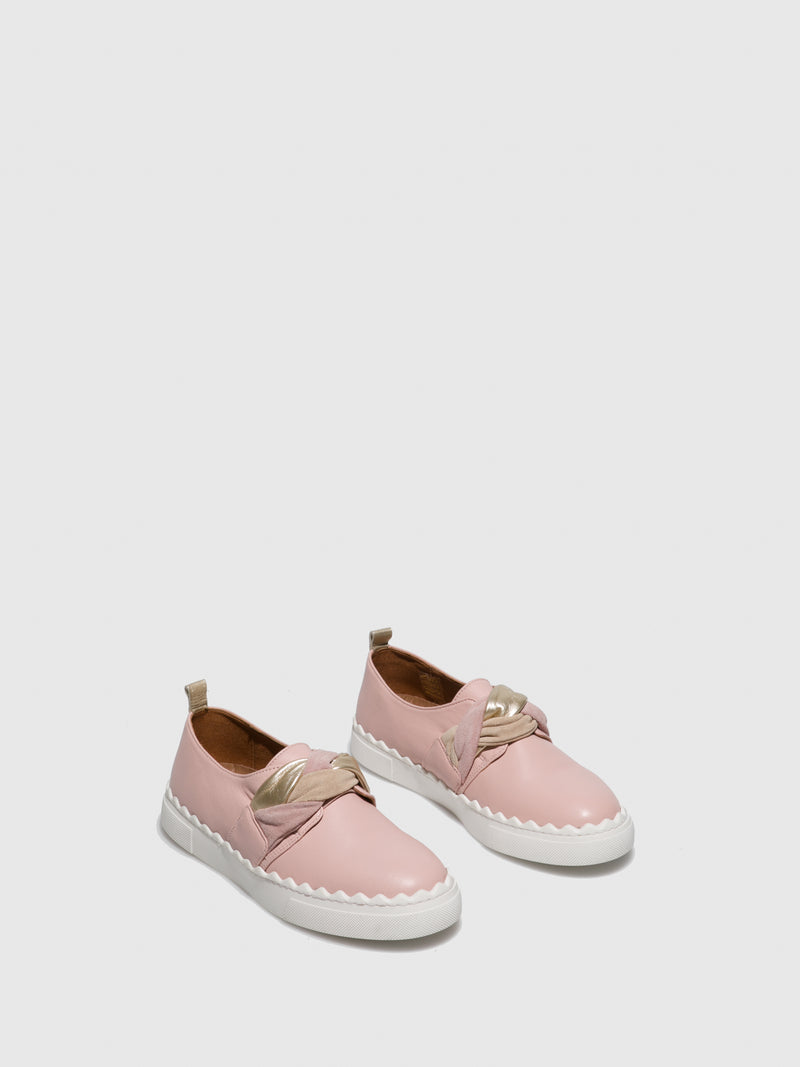Pink Slip-on Shoes