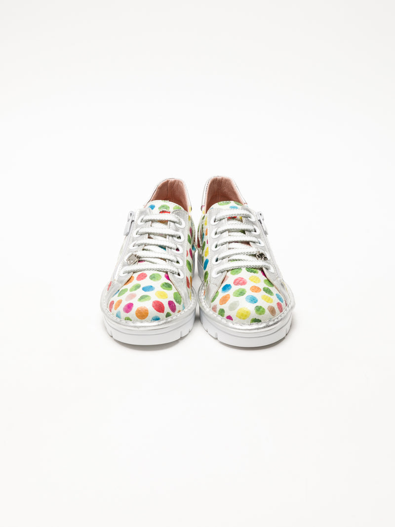 Jose Saenz Multicolor Lace-up Trainers