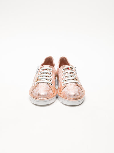 Jose Saenz LightPink Lace-up Trainers