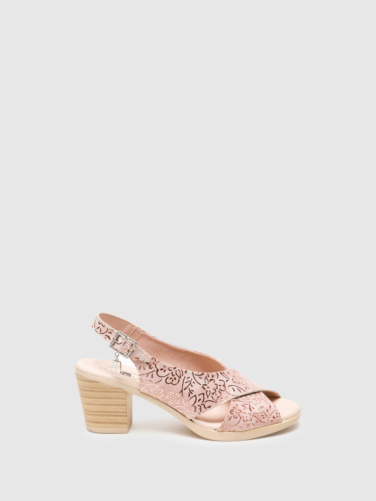 Jose Saenz LightPink Sling-Back Sandals
