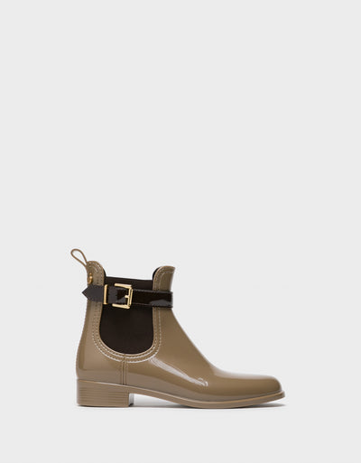 Lemon Jelly Tan Chelsea Ankle Boots