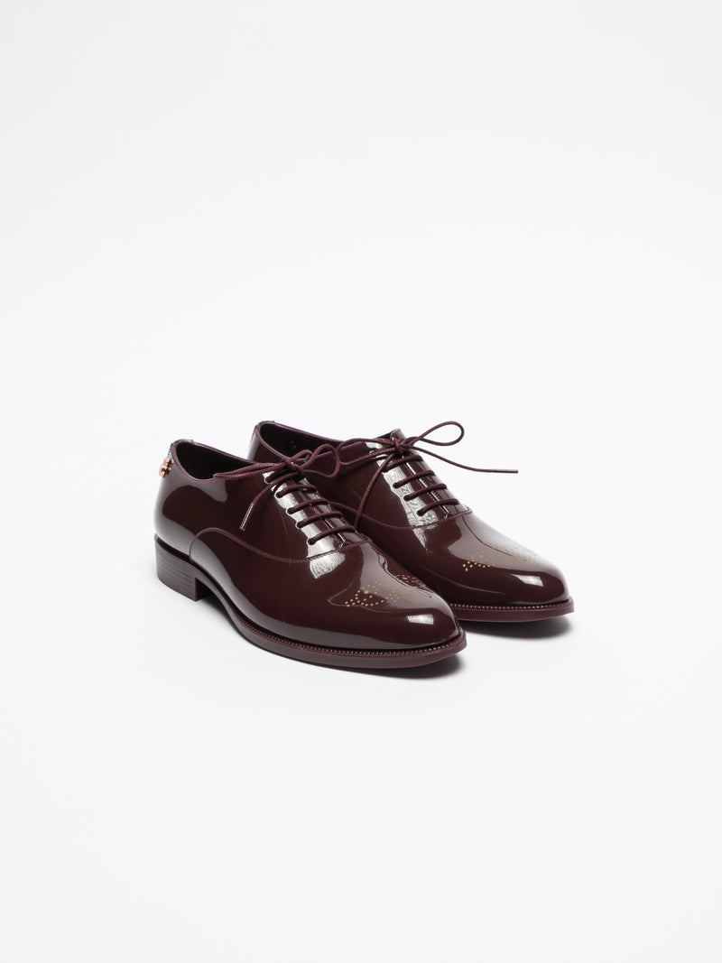 DarkRed Oxford Shoes
