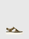 Lemon Jelly Multicolor Buckle Sandals