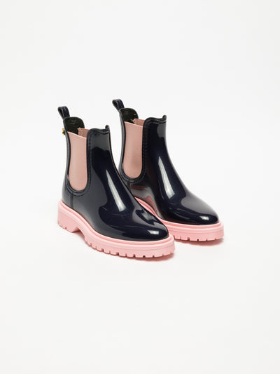 Lemon Jelly Multicolor Chelsea Ankle Boots