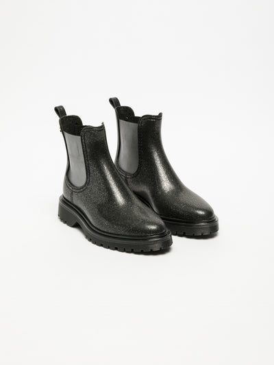Lemon Jelly DarkGray Chelsea Ankle Boots