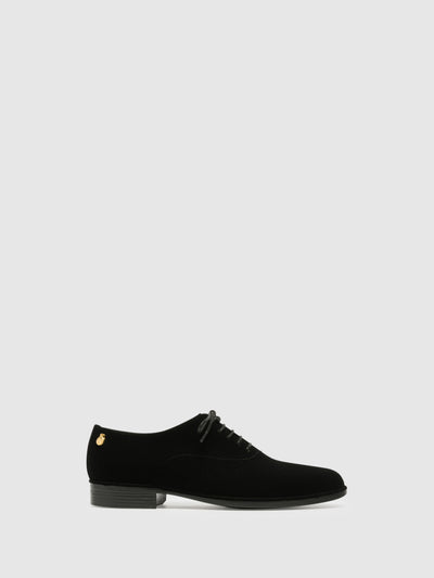 Lemon Jelly Black Oxford Shoes