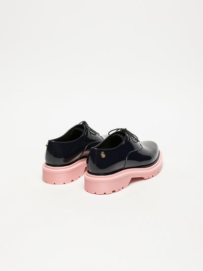 Lemon Jelly Navy Oxford Shoes