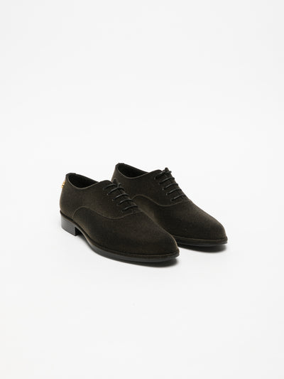 Lemon Jelly Brown Oxford Shoes